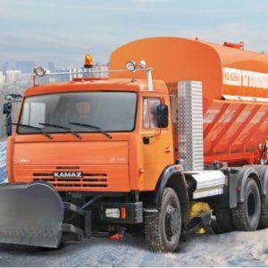Комбинированная дорожная машина КО-829БГ на шасси КАМАZ-65115 (6х4)