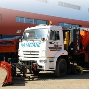 Дорожная машина МКДМ 10ГМ на шасси KAMAZ-53605