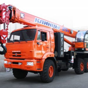 Автокран КС-55713-5К-1 на шасси KAMAZ-43118 (6х6)