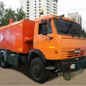 Каналопромывочная машина КО-560Г на шасси КАМАZ-65115 (6х4)