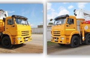 Автобетононасос 58154C на шасси КамАЗ-65201 (8х4, Евро-4) ТЕХНОЛОГИЧЕСКОЕ ОБОРУДОВАНИЕ фирмы LIEBHERR (Германия)