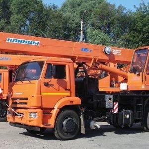 Автомобильный кран КС-35719-1-02
