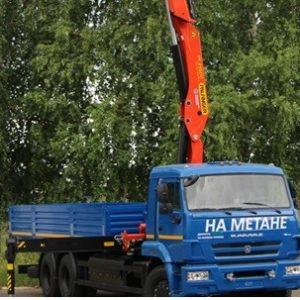 Бортовой автомобиль KAMAZ-65117-32 с КМУ РК23500 (6х4)
