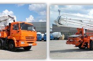 Автобетононасос 58153С на шасси КамАЗ-6540 (8х4, Евро-4) ТЕХНОЛОГИЧЕСКОЕ ОБОРУДОВАНИЕ фирмы LIEBHERR (Германия)
