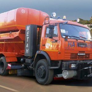 Дорожная комбинированная машина ЭД-405Г на шасси KAMAZ-65115-32